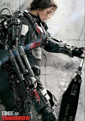 Edge Of Tomorrow - Emily Blunt warrior